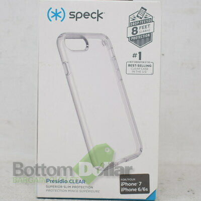 Speck 79988-5085 Brand New Presidio Clear Case For Iphone 7/6/6s
