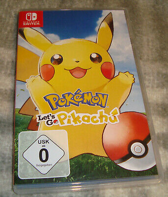 Nintendo Switch - Pokemon Let's go Pikachu - TOP!
