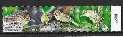 Pitcairn 2019  NEW ISSUE Reed Warbler  Strip Issued 14-06-2019  MNH