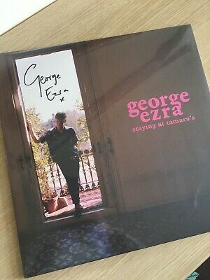 George Ezra staying at tamara's signed record