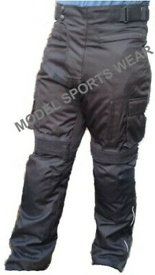Men's Motorcycle Motorbike Waterproof windproof  Cordura Textile Trouser/Pants