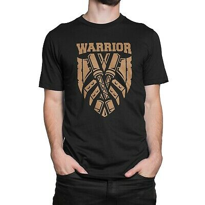 "GIXWEAR Manner Shirt ""Warrior"" S M L XL XL in schwarz, für Spieler Geek Nerd"