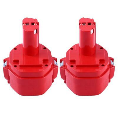 2X PA14 3.0Ah Ni-MH Remplacement pour Makita 14,4V Batterie 1420 1422 1433...
