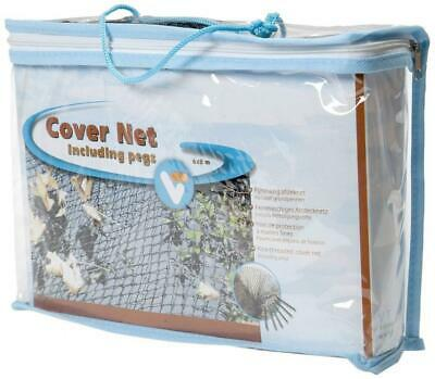 VT filet de protection pour bassin d'agrément, Cover Net 6 x 3 m, 6 x 3 m