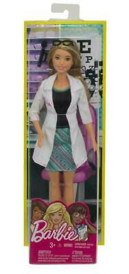 Barbie Careers Eye Doctor Doll Blonde Brand New Fast Postage