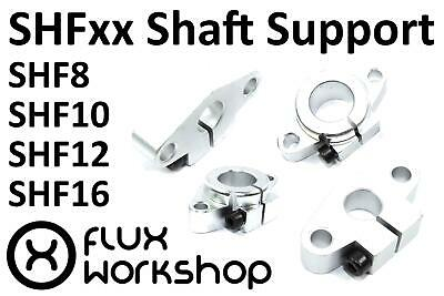 SHFxx Linear Shaft Support 8 10 12 16 CNC 3D Printing Rep Bearing Flux Workshop