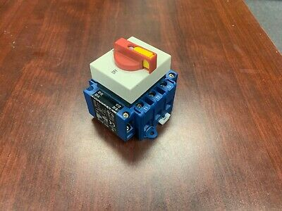 Kraus & Naimer KG64 T203/USA026 H010/A11-VE Rotary Switch