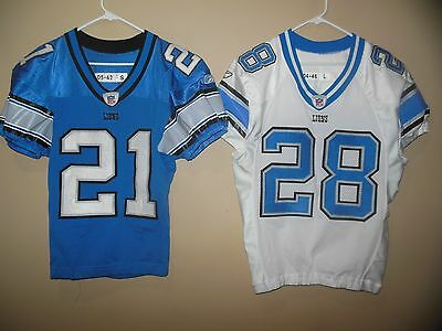 outlet store dc7a4 6b17e DETROIT LIONS GAME Used Nfl Football Jersey - $135.00 | PicClick