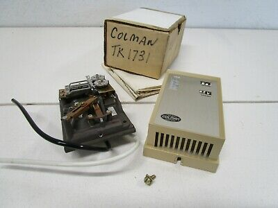 Colman TK1731 Thermostat, Heating and Cooling, Dual Setpoint, Single Output
