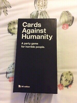 Cards Against Humanity - A Party Game for Horrible People - UK Edition VGC