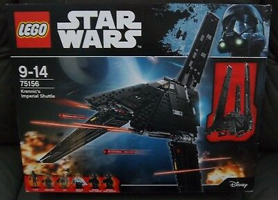 LEGO Star Wars 75156 Krenic imperial Shuttle NEUF