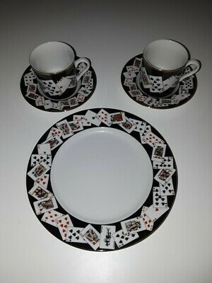 Tiffany & Co. Demitasse Cup & Saucer with a Dessert Plate