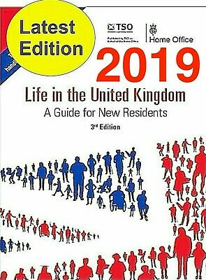 Life in the UK 3rd Edition 🌟 2019 🌟 OFFICIAL BOOK Digital + AUDIO + TIPS