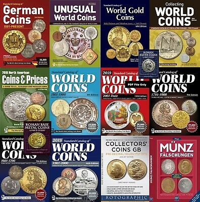 New Set of Catalogs of World Coins and Paper Money 1601-Date Download Link Only