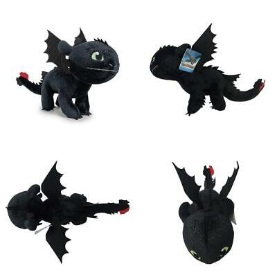 """How To Train Your Dragon - Plush soft toy character Toothless 11""""/30cm -..."""
