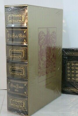 1611 KING JAMES BIBLE - Easton Press DELUXE LIMITED ED - ULTRA RARE SEALED w/BOX