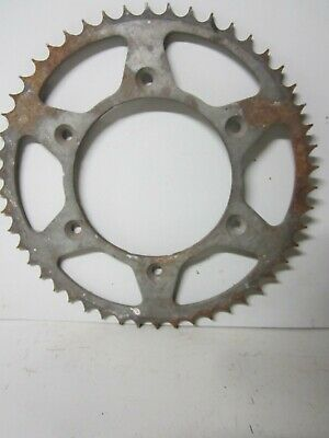 "Vintage Large 10 1/4"" Rusty Metal Steel Gear Farm Industrial Steampunk Part"
