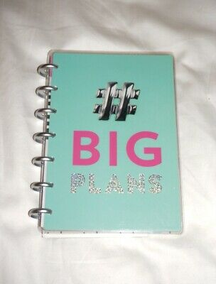 """New Create 365 Mambi The Happy Planner Mini 12 Month """"# Big Plans"""""""