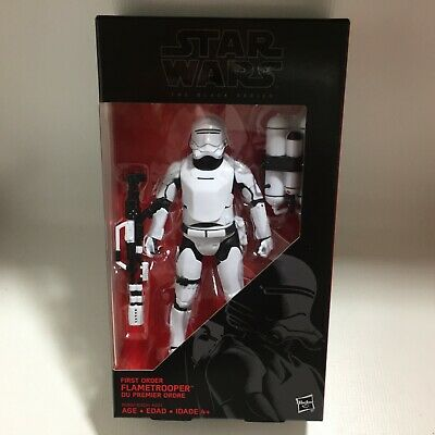 STAR WARS THE BLACK SERIES #16 FIRST ORDER FLAMETROOPER w/FLAME THROWER