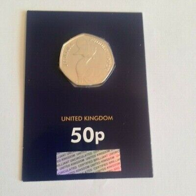 Bunc On Change Checker Card 2016 Jemima Puddle-Duck 50P Coin
