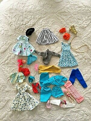 Vtg Mattel Barbie Other Doll Clothing Lot Ginny ? Ken ? BARGAIN TLC