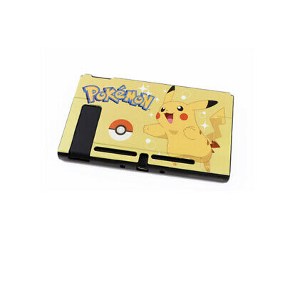 Pokemon Pikachu Pattern Matte Protective Shell Cover Case for Nintendo Switch