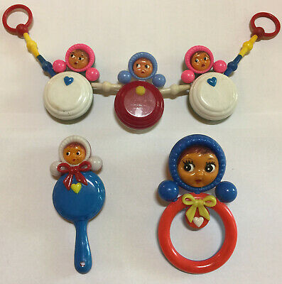 Pram Rattles from 1968 Set of 3 pieces
