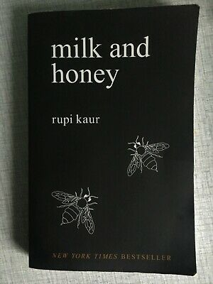 Milk and Honey by Rupi Kaur (Paperback, 2015) Poems, great read.