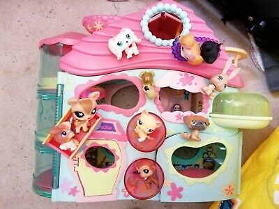LITTLEST PET SHOP BUNDLE including pets and house