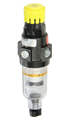 "Parker 14E11B18FC One Piece Combo Compressed Air Filter Regulator, 1/4"" NPT"