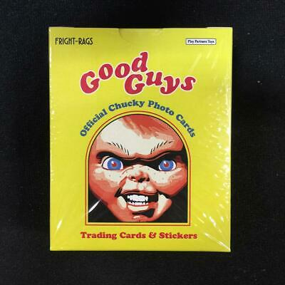 Fright-Rags Chucky Good Guys Trading Cards Factory Box Set mint sealed