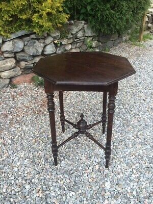 Late Victorian  Mahogany Side Table / Plant Stand
