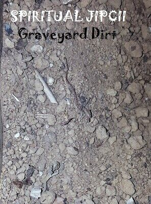 GRAVEYARD DIRT 1 oz Sacred Grave Wicca PAGAN Witchcraft Voodoo Witch Work