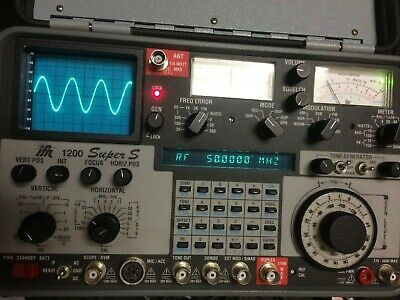 Ifr 1200 Super S Service Monitor & Analyser Tested
