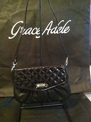 Brand New Grace Adele Elegant Jane Black Clutch with tags on
