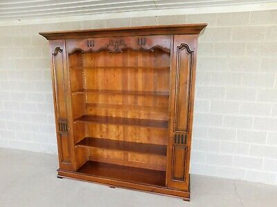 De Bournay French Louis XIII Open Bookcase