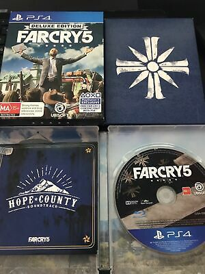PlayStation 4 PS4 Game: FAR CRY 5 FARCRY 5 DELUXE EDITION! LIKE NEW! CHEAPEST !