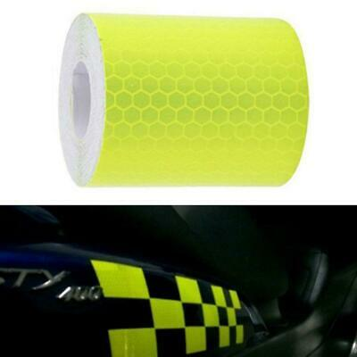 5cmx3m Safety Warning Signs Sticker Reflective Motorcycle Car Truck Tape Ro I0C5