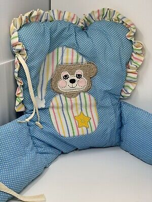 Riegel Teddy Beddy Bear Baby Highchair Cover Vintage 1982 Judi-S Morgan Rare