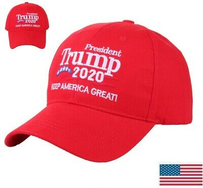 Donald Trump 2020 Win! Keep Make America Great Cap President Election Hats Red
