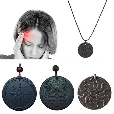 EMF Radiation Protection Shield Pendant Necklace Negative Ions for Electronics