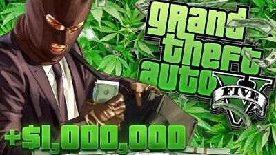 PS4 GTA 5 Shark Card Special Mission 1 million GTA ONLINE CASH
