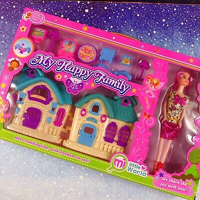 DOLL HOUSE FURNITURE Household Hobbies Barbie Sound Birthday Party Gift Girl Kid