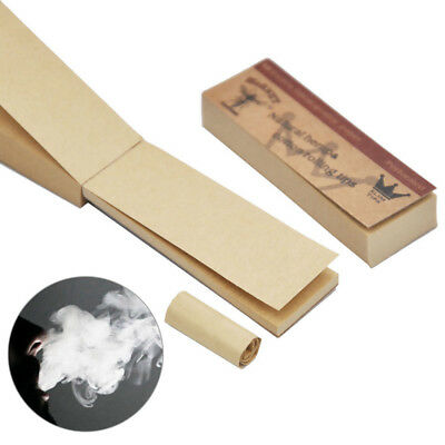 5x Hornet Rolling Paper Filter Tips Brown Unrefined 50 leaves 60*21MM Great
