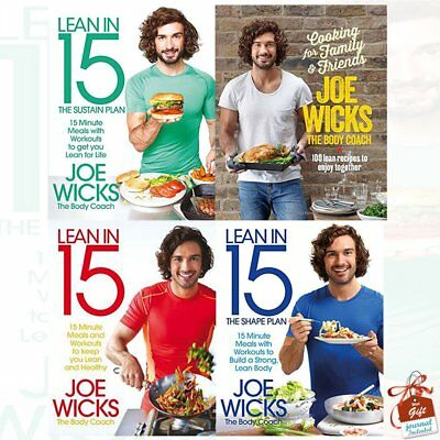 Lean In 15 & Ultimate Fit Food - 6 Recipe Pdf Bundle - Rrp 40+ - Instant Ship