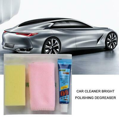 Car Headlight Lens Restoration Repair Kit Polishing Cleaner Sponge Tool Set