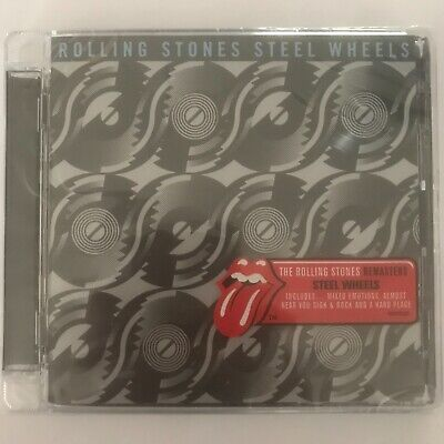 The rolling stones steel wheels remasters cd 12 titres neuf sous blister