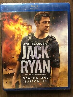 NEW Tom Clancy's Jack Ryan Season 1 Blu-Ray Canada Bilingual SEALED