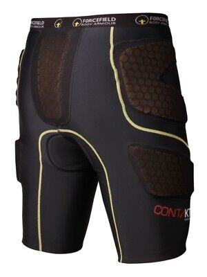 Forcefield Contakt Shorts - Black - FF3010