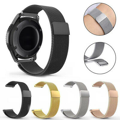 Universal Milanese Mesh Loop Magnetic Wrist Watch Band Metal Strap 20mm/22mm NEW